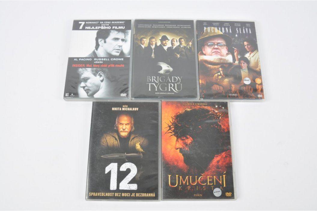 DVD - 12, Umučení Krista, Pochybná sláva apod. Filmy