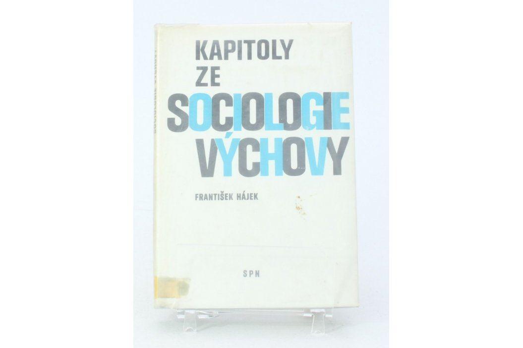 František Hájek: Kapitoly ze sociologie výchovy Knihy