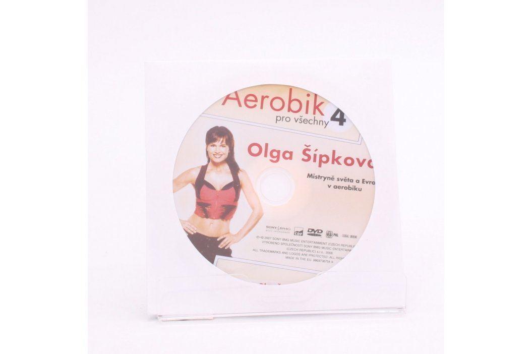 DVD Olga Šípková: Aerobik pro všechny 4 Filmy