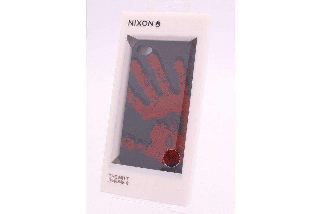 Kryt Nixon pro Apple iPhone 4, černá, motiv dlaně Pouzdra a kryty