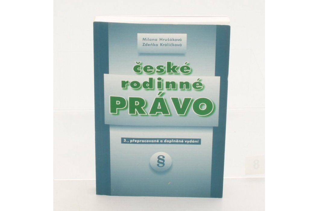 Kniha České rodinné právo Knihy