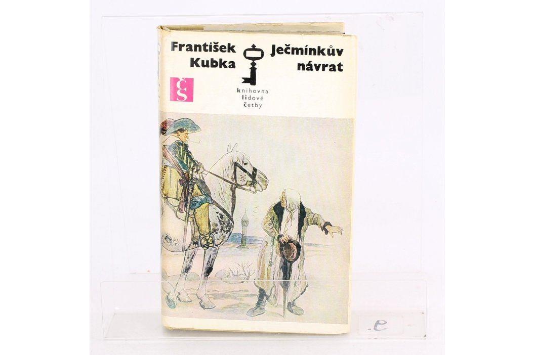 Historická kniha Ječmínkův návrat František Kubka