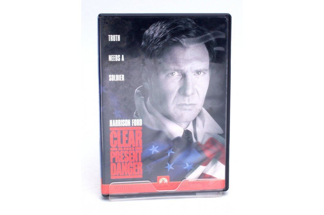 DVD Clear And Present Danger