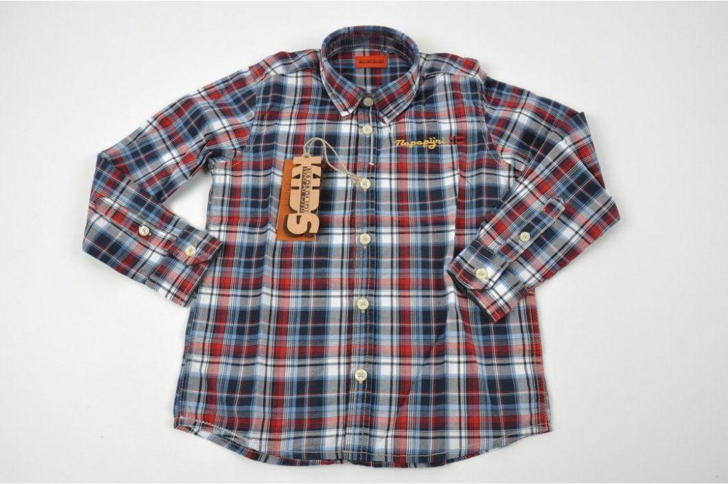 Dětská košile Napapirji dlouhý rukáv vel. 6 Dětská trička a košile