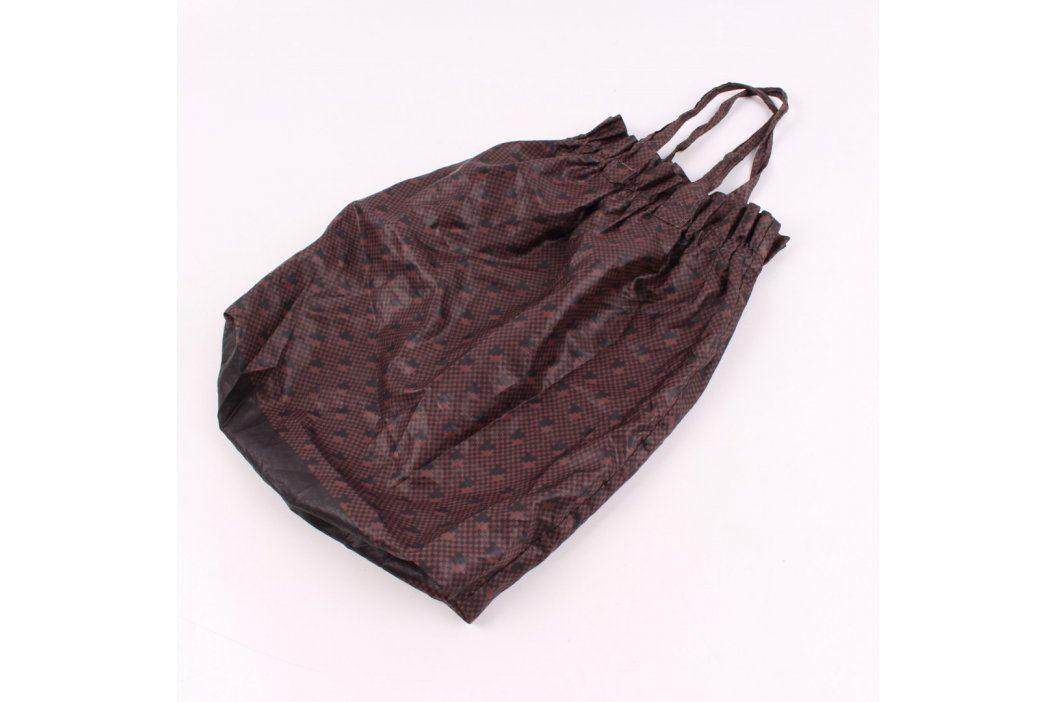 Dámská taška látková odstín hnědé