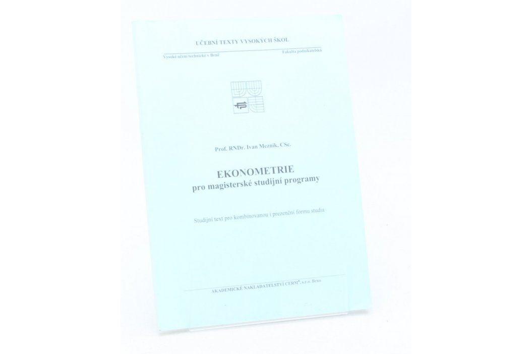 Skripta Ekonometrie pro magisterské studijní obory