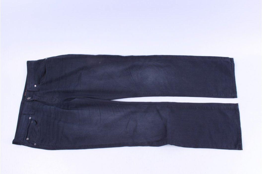 Pánské kalhoty Premium Straight fit černé