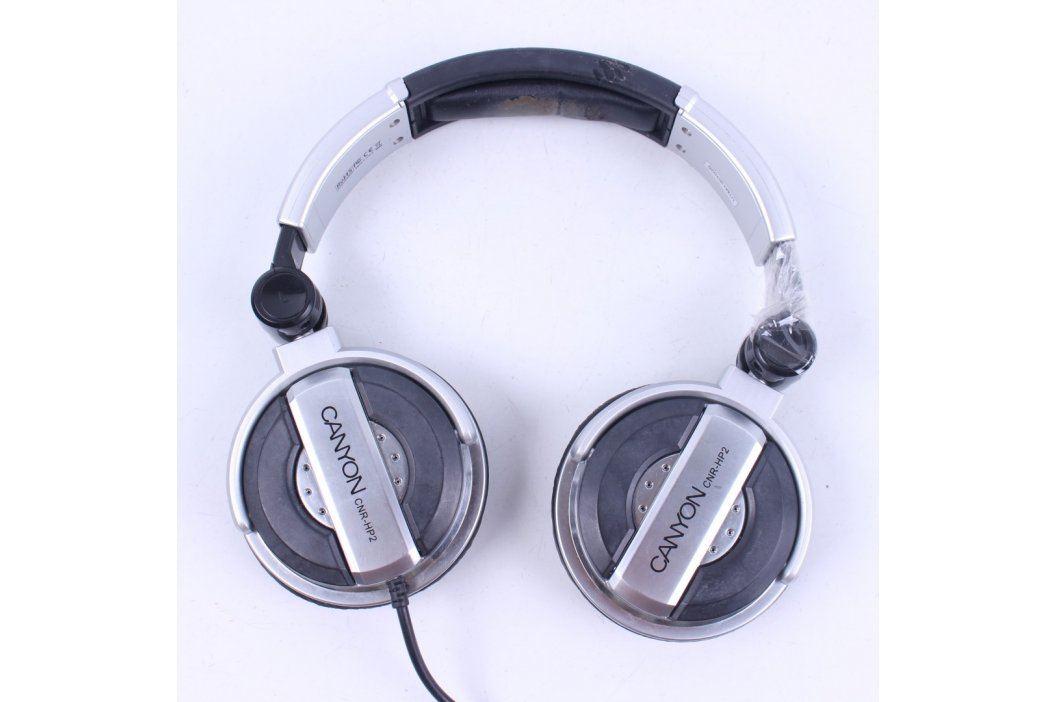 Sluchátka CANYON CNR-HP2 stříbrné