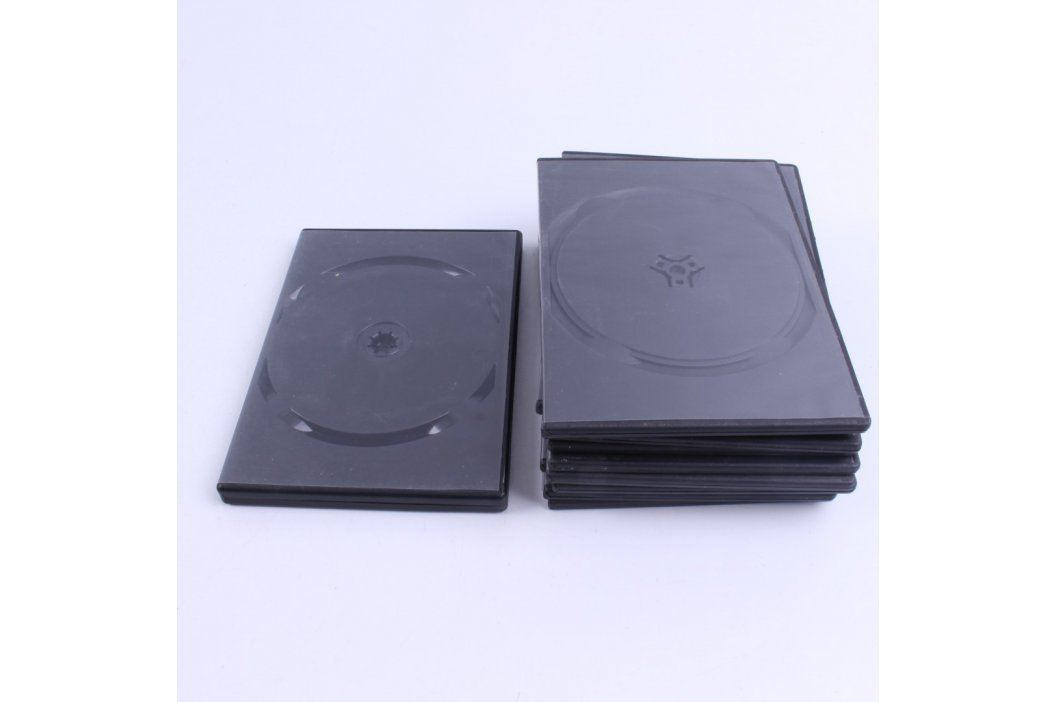 Obaly na CD/ DVD černé 11 ks
