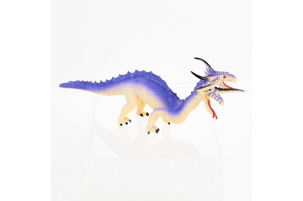 Gumová figurka dvouhlavý drak