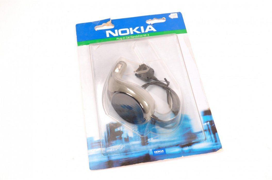 Nabíječka do auta Nokia  HF-3 Nabíječky a startovací boxy