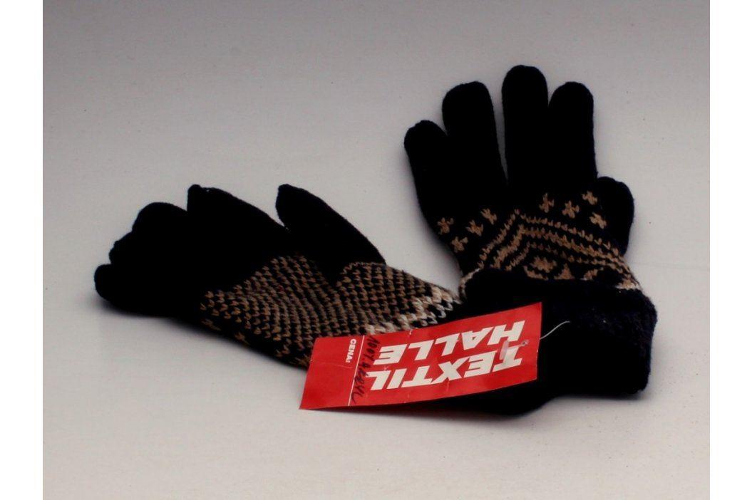 Prstové rukavice dámské černé