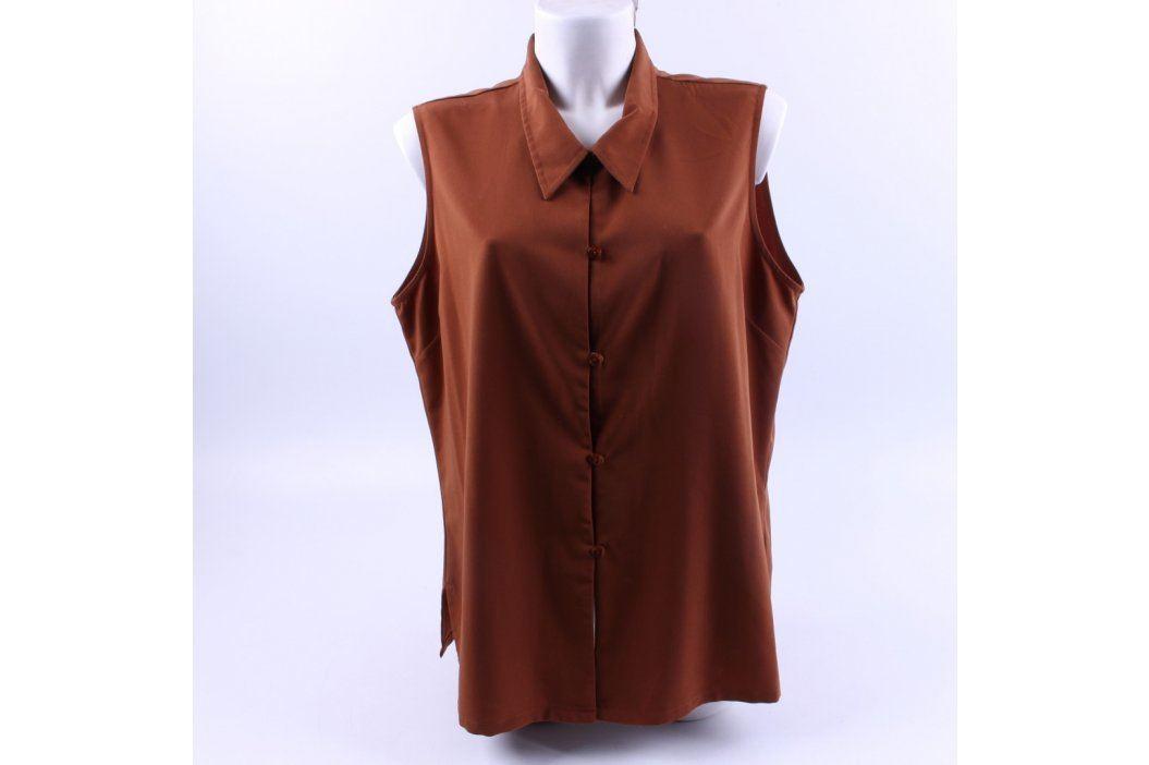 Dámská vesta Kathie Lee hnědá