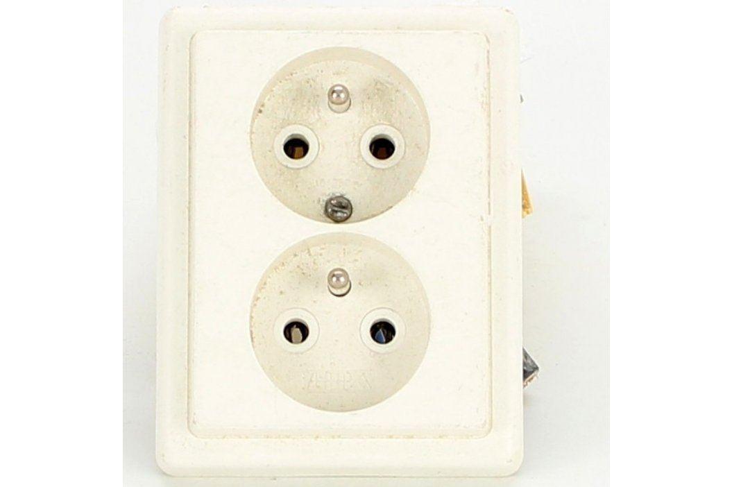 Dvojzásuvka ABB do krabice Elektroinstalační materiál