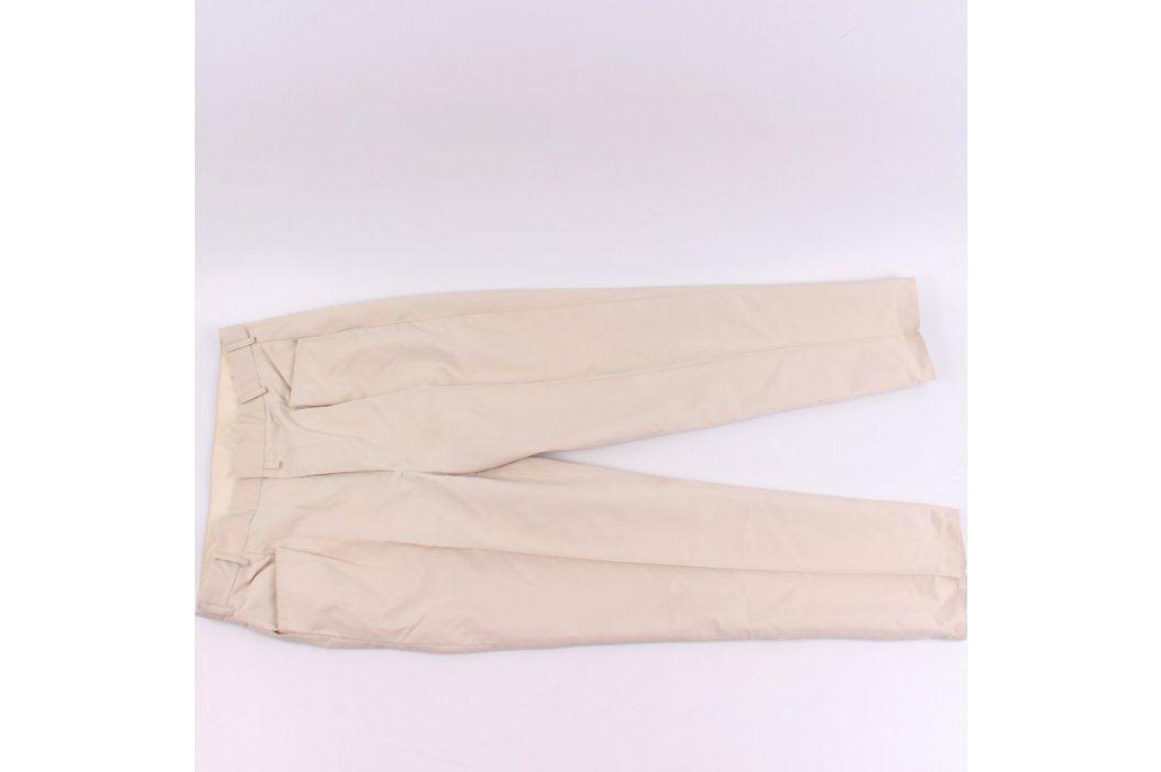 Pánské společenské kalhoty béžové