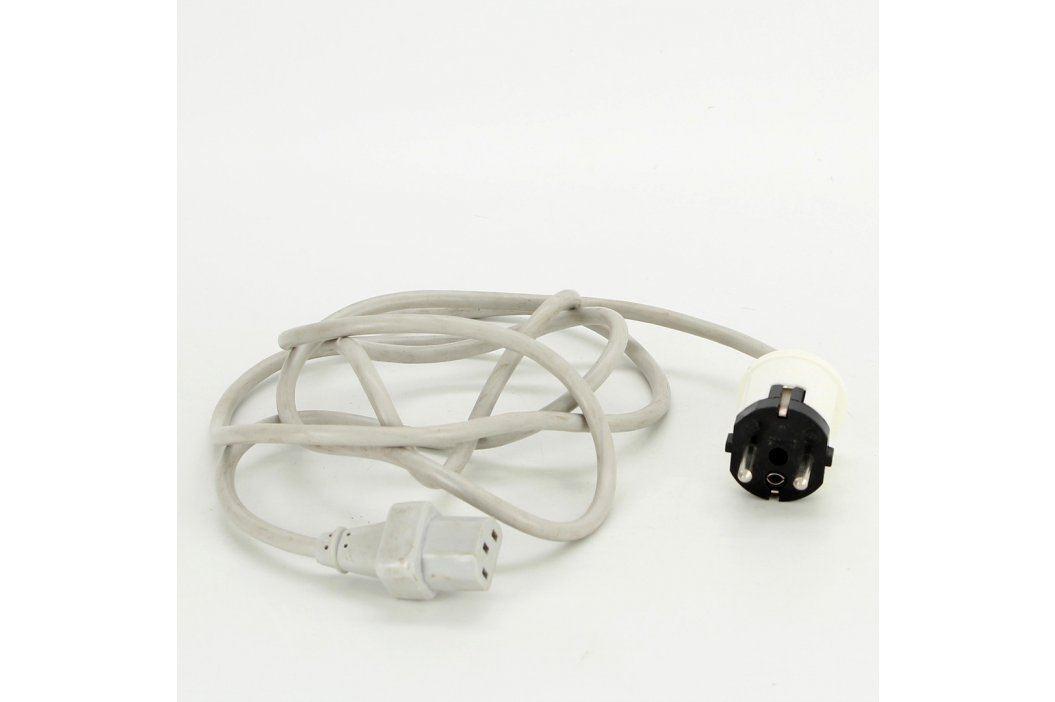 Napájecí kabel C13/C14 šedý délka 200 cm