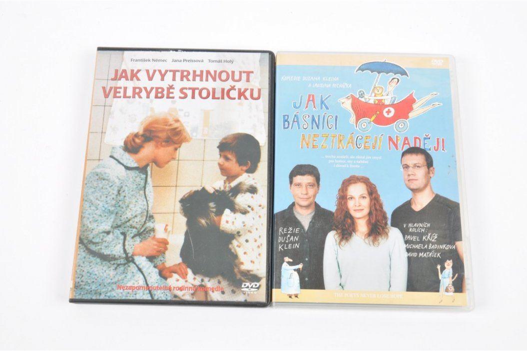 2 české filmy na DVD Filmy