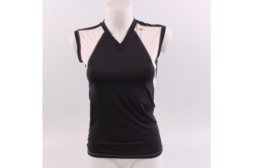 Dámské sportovní tričko černo bílé