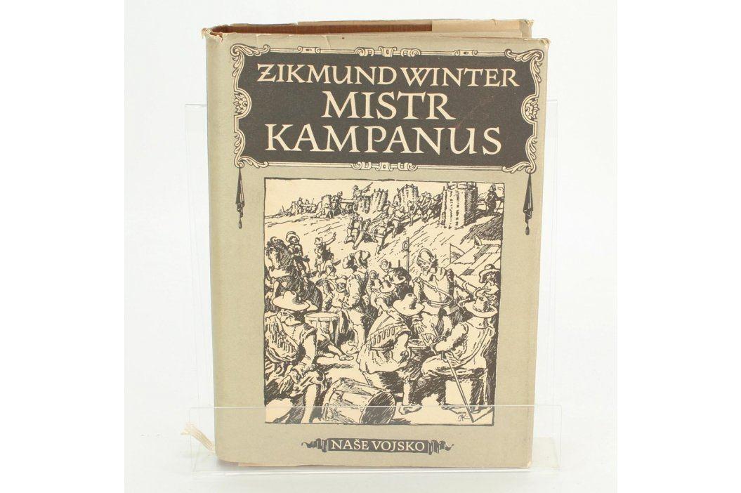 Kniha Zikmund Winter: Mistr Kampanus  Knihy