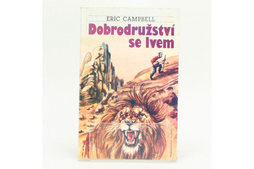 Dobrodružství se lvem Eric Campbell Knihy