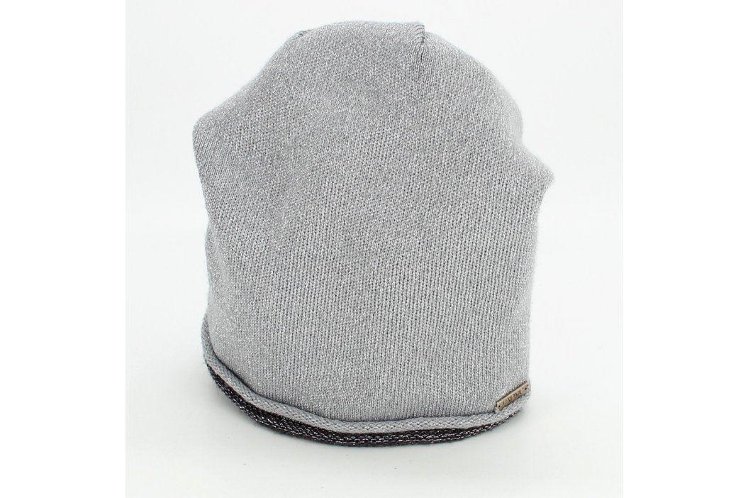 Dámská čepice Veronic šedo stříbrná Čepice a klobouky