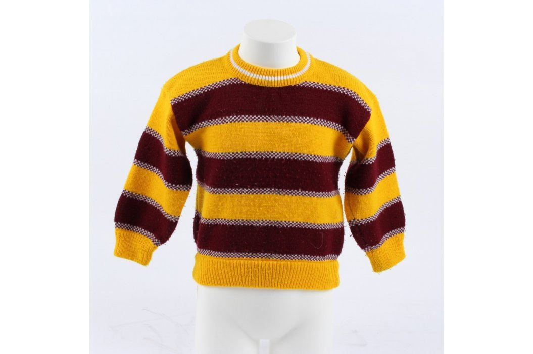 Dětský svetr Dong Model červenožlutý Dětské mikiny a svetry