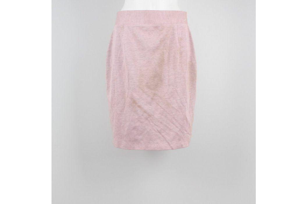 Dámská sukně ke kolenům odstín růžové Dámské sukně
