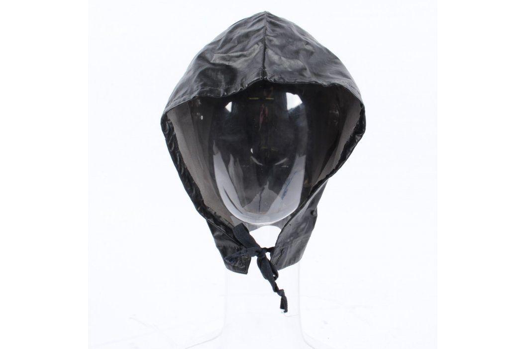 Kapuce do deště černá koženková Čepice a klobouky