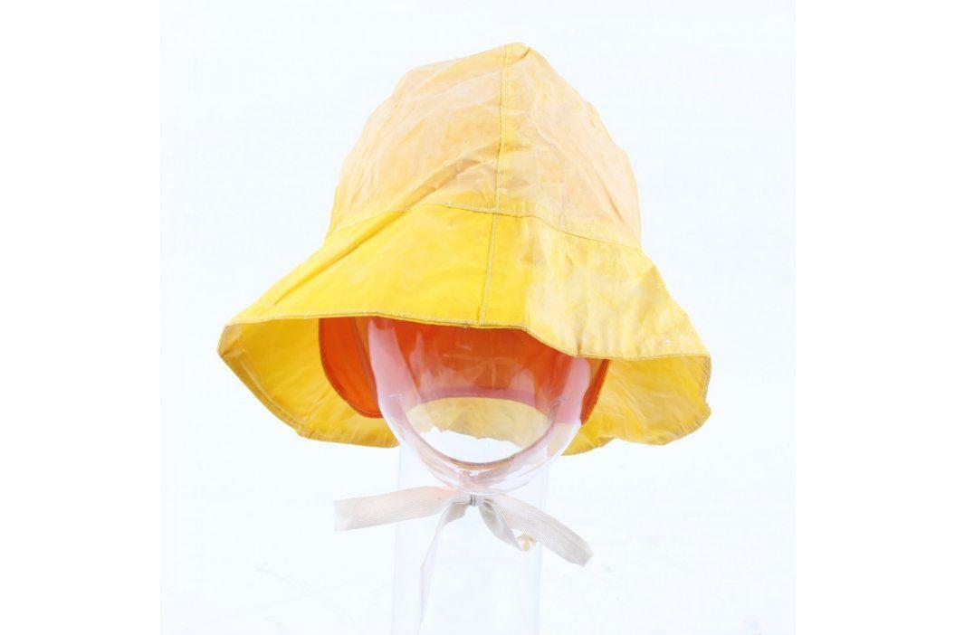 Klobouk do deště univerzální odstín žluté Čepice a klobouky