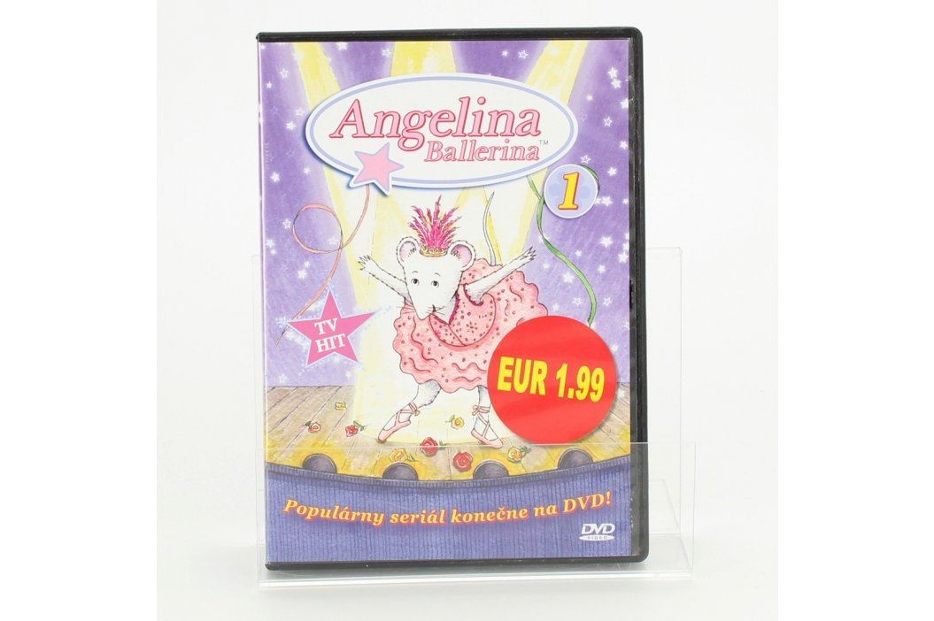 DVD Angelina Ballerina                   Filmy
