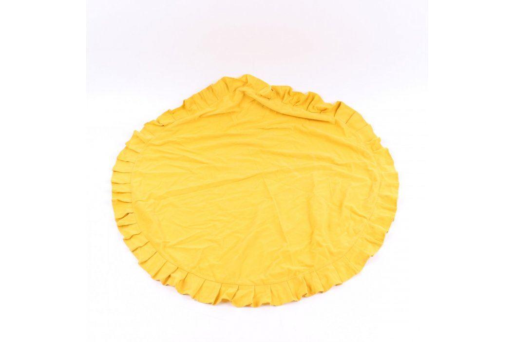 Ubrus hořčicový kulatý průměr 86 cm Ubrusy a ubrousky