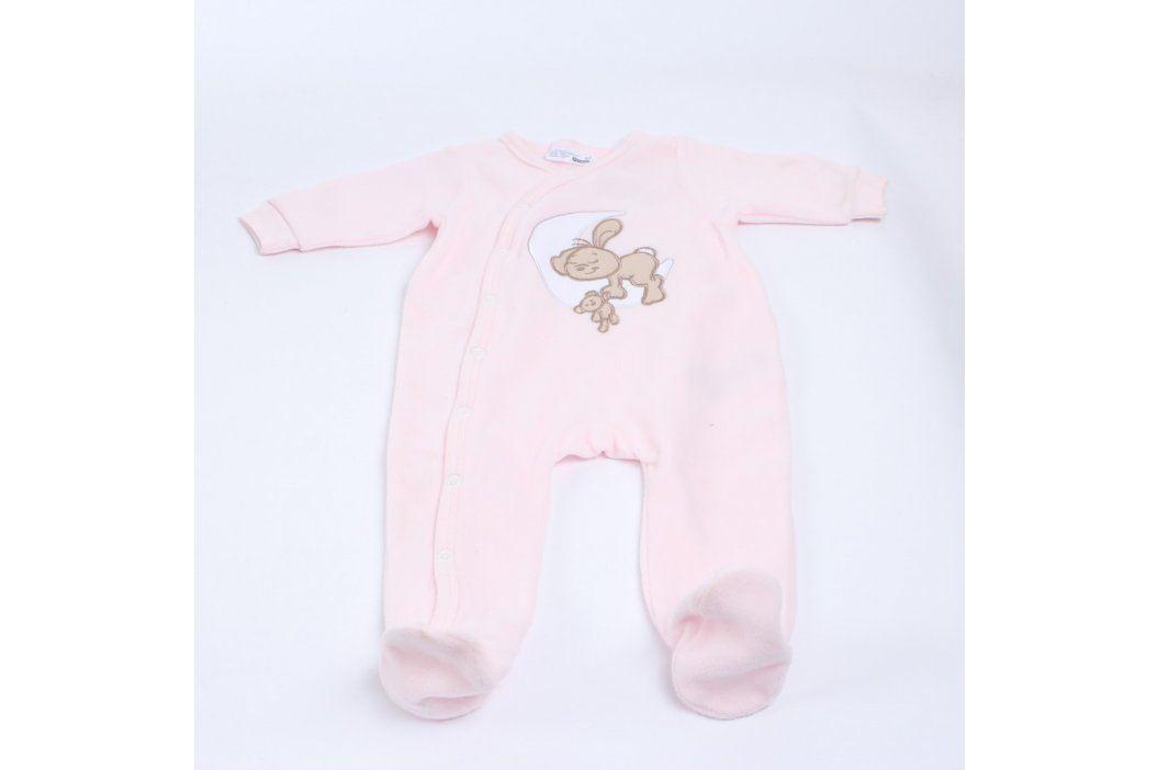 Dětský overálek Ergee odstín růžové Kojenecké oblečení