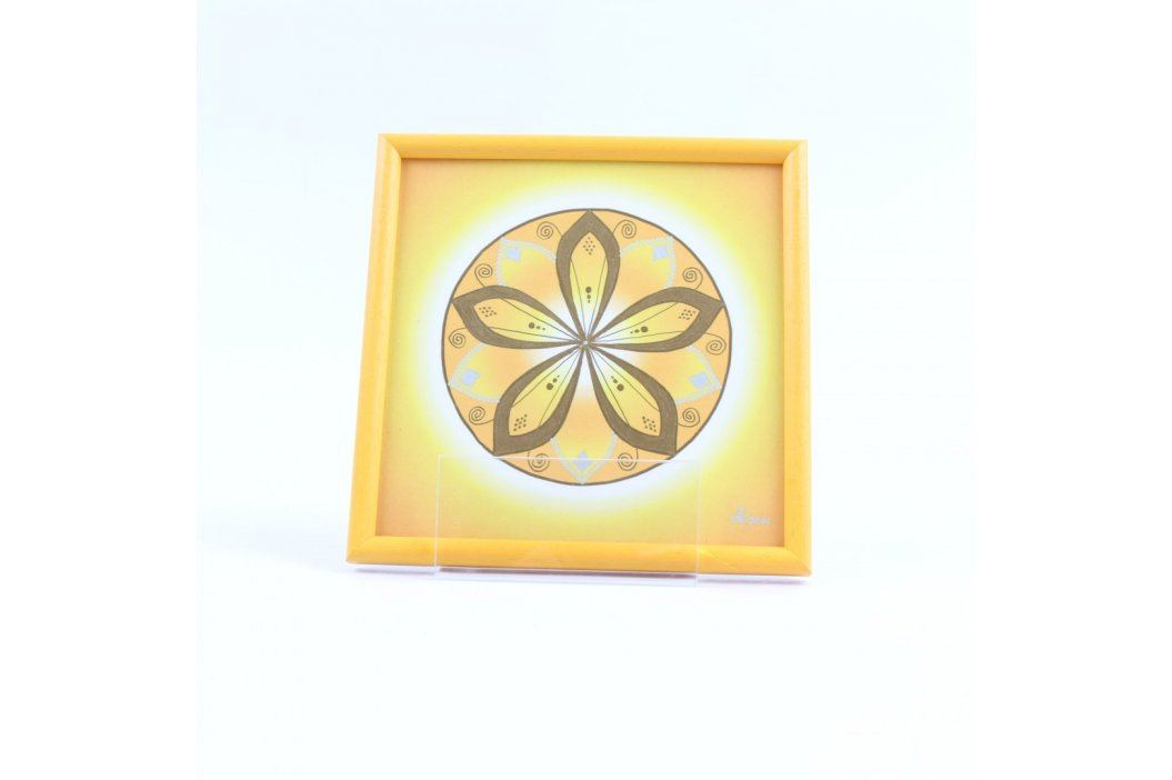 Léčivá mandala Energetický zářič pro 3.čakru Obrazy a plakáty