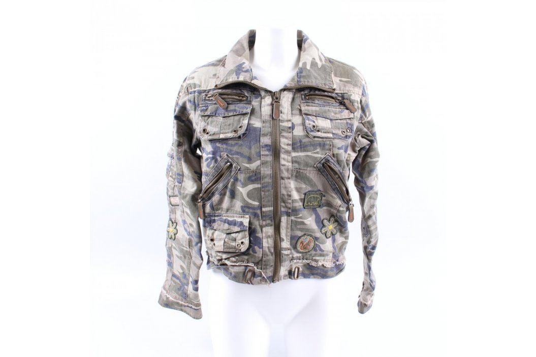 Dámská bunda Italia Design maskáčová Dámské bundy a kabáty
