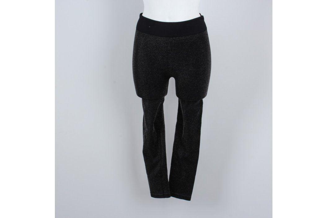 Dámské dlouhé legíny šedočerné Dámské kalhoty