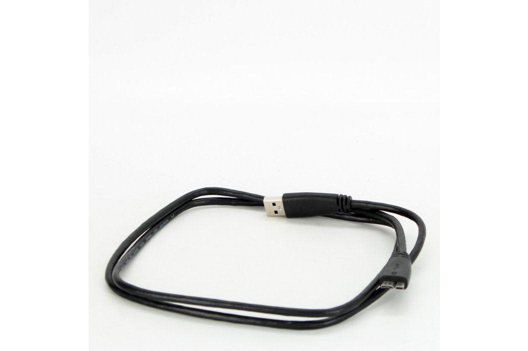 Propojovací kabel USB A/USB microB 120 cm USB kabely