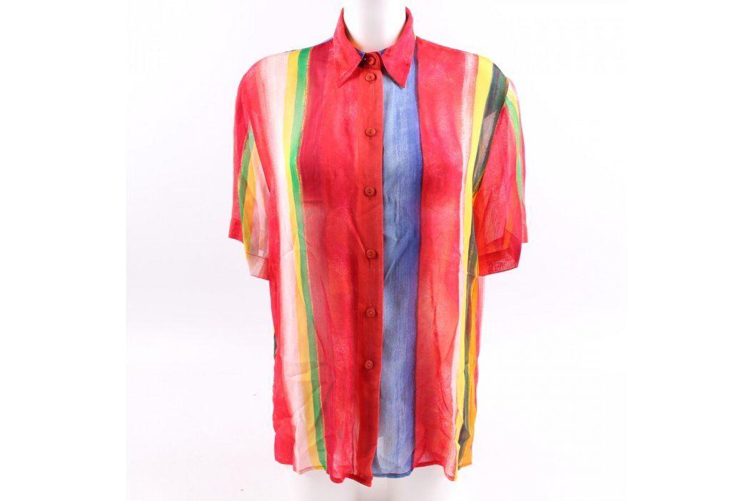 Dámská košile Bianca barevná krátký rukáv Dámské halenky a košile
