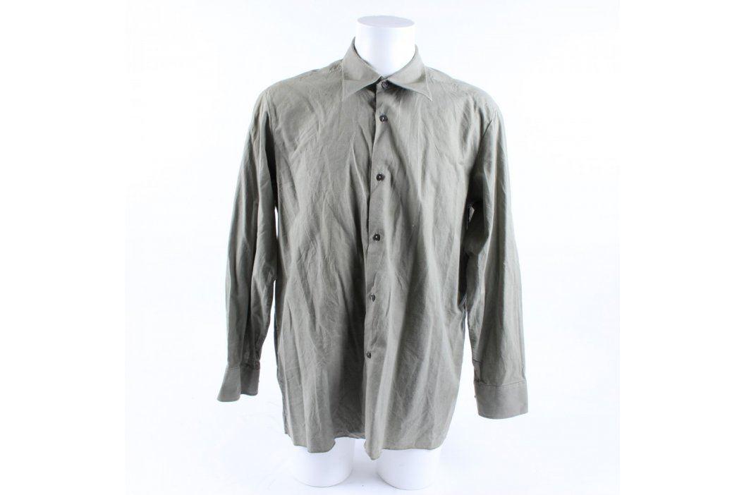 Pánská košile Šohaj světle zelená Pánské košile