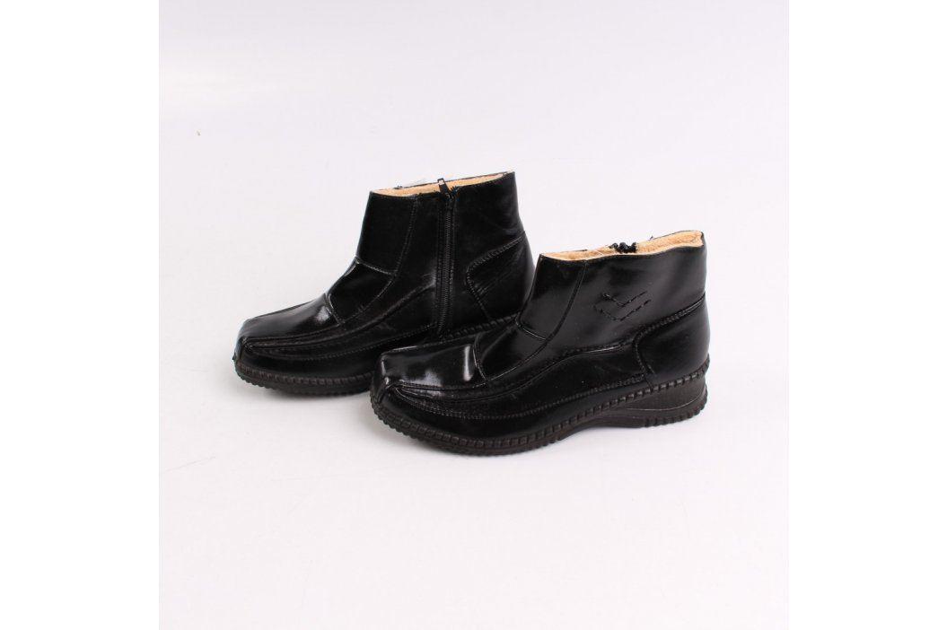 Dámské nízké kozačky Boalikang černé Zimní obuv