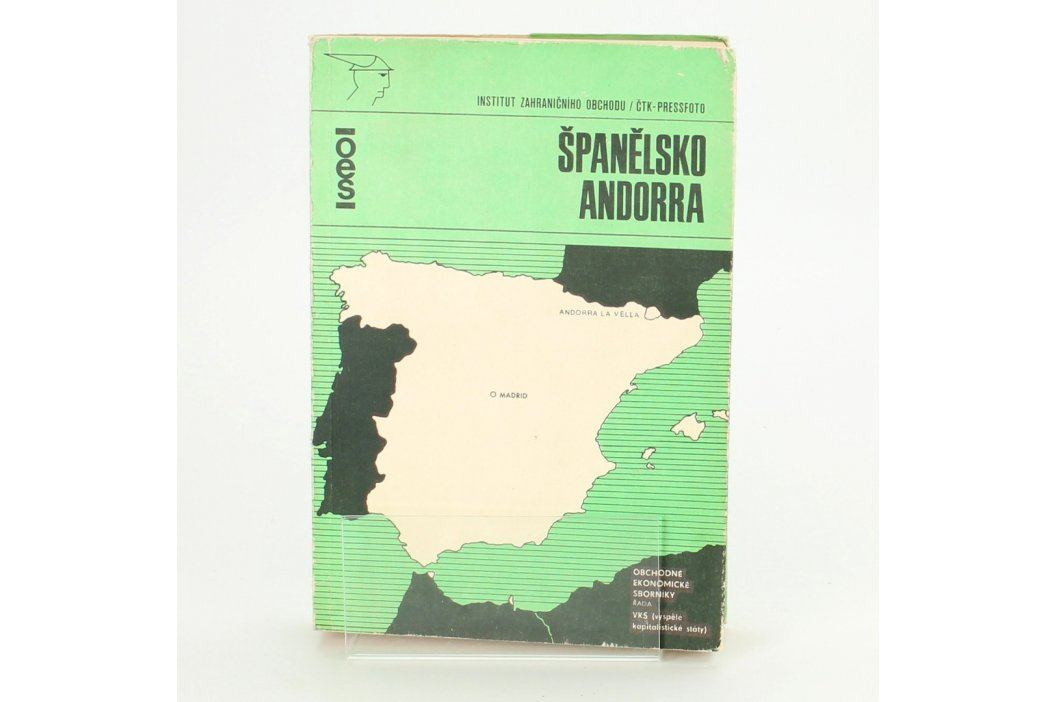 Kniha Španělsko Andora          Knihy