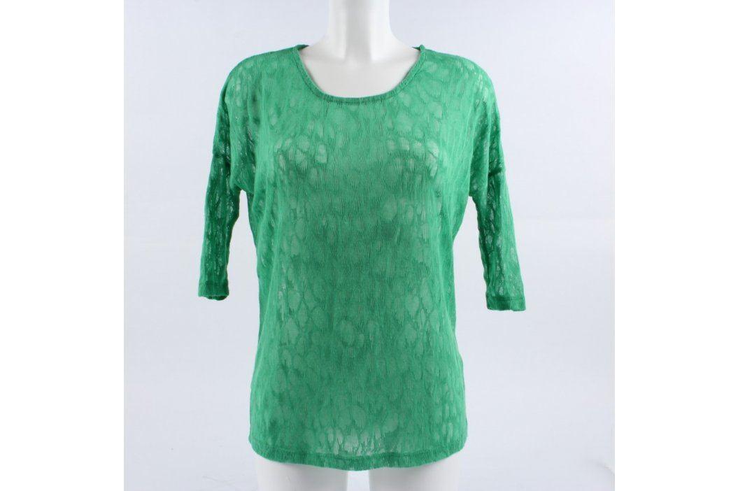 Dámské tričko Only odstín zelené Dámská trička a topy