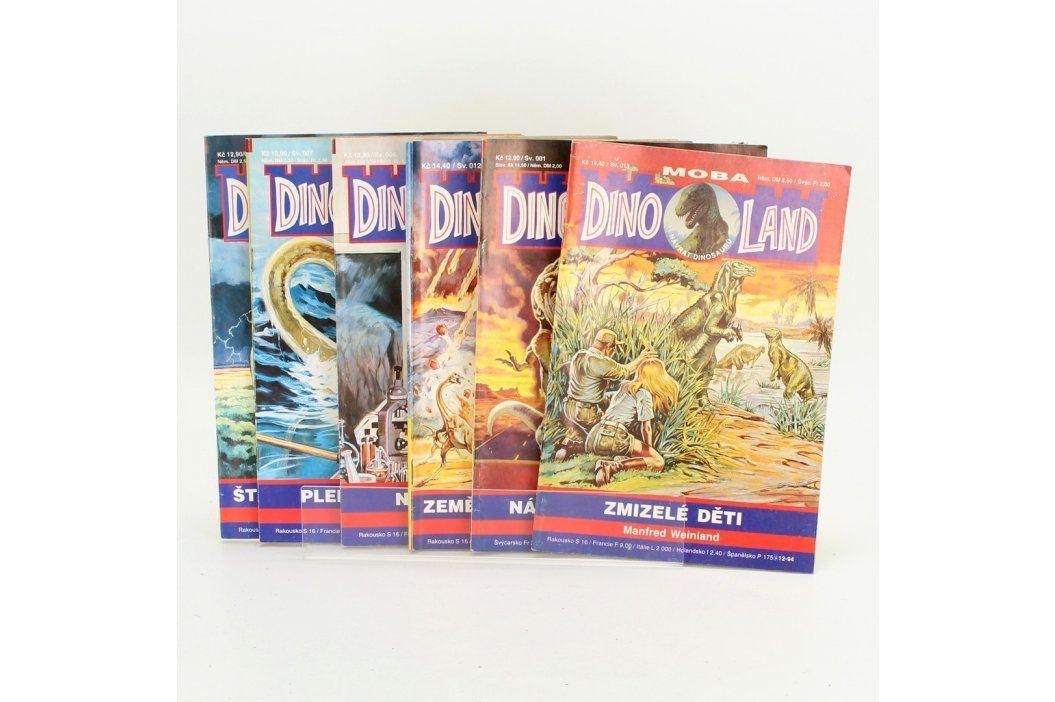 Sada časopisů - návrat dinosaurů Dinoland Časopisy a komiksy