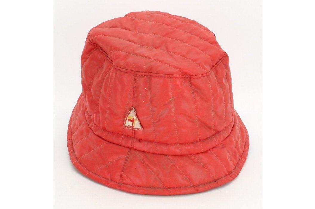 Dámský klobouk červené barvy Čepice a klobouky