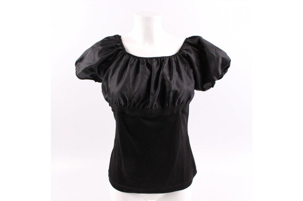 Dámský top Crazy World černý Dámská trička a topy