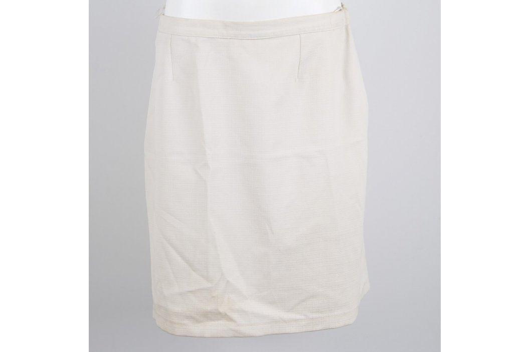 Dámská delší sukně bílé barvy Dámské sukně