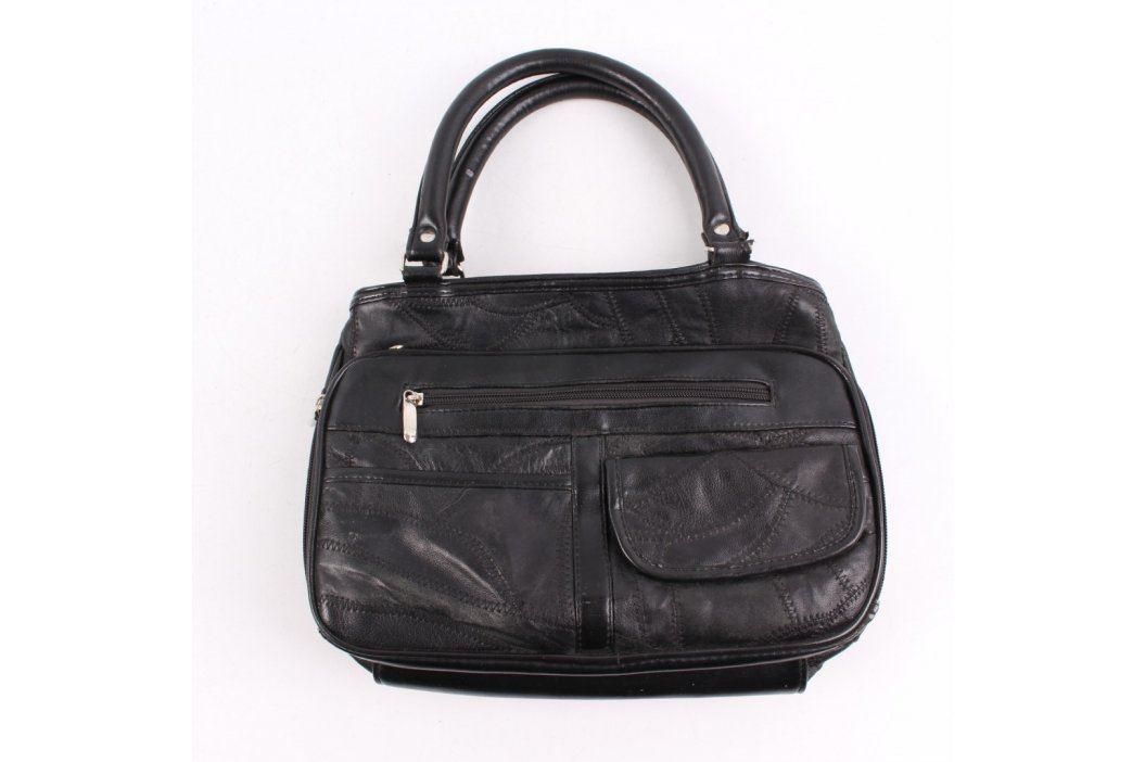 Dámská kabelka na zip černá Kabelky