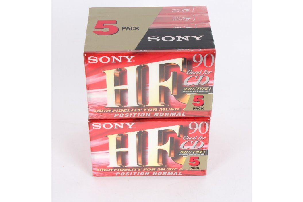 Audiokazety Sony HF 90 min Záznamová média