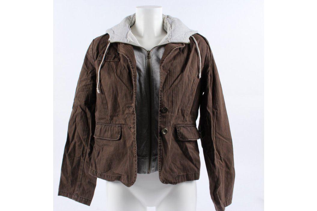 Dámská bunda Colours of the World hnědá Dámské bundy a kabáty