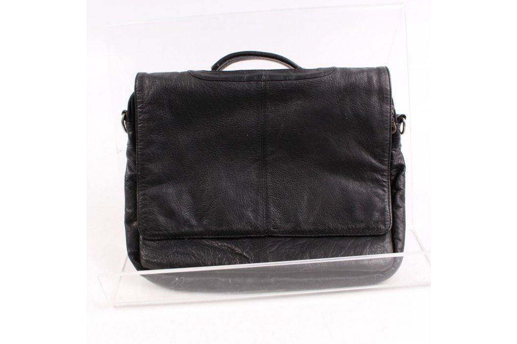 Taška East West Leather černá Tašky a aktovky