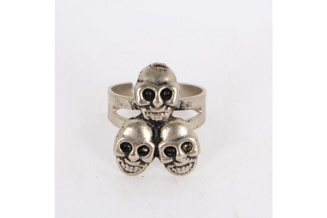 Dámský prsten se třemi obličeji Prsteny